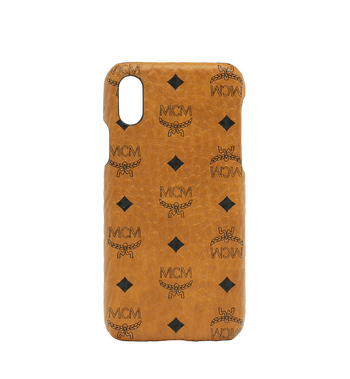 MCM iPhone X Case in Visetos Original AlternateView1