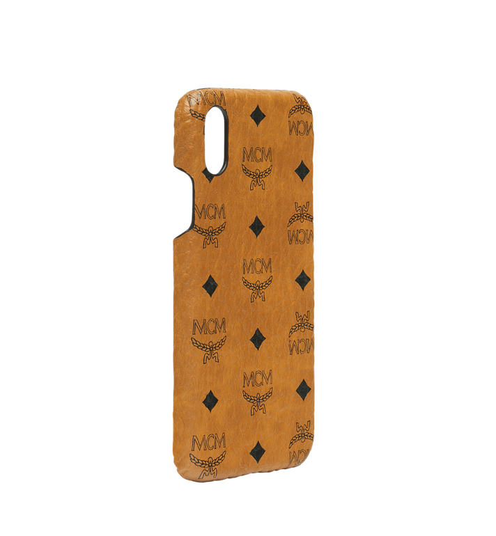 MCM iPhone X Case in Visetos Original Alternate View 2
