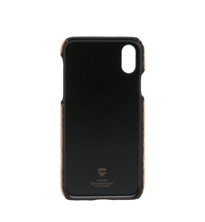 MCM iPhone X Case in Visetos Original Alternate View 3