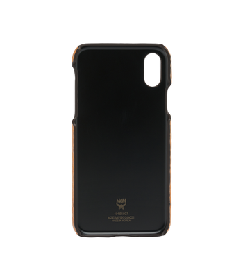 MCM iPhone X Case in Visetos Original AlternateView3