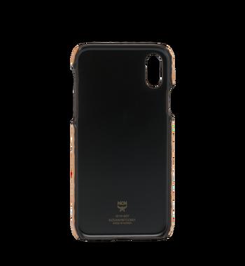MCM iPhone X Case in Visetos Original Alternate View 3