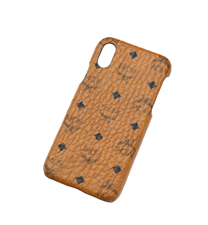 MCM iPhone X Case in Visetos Original Alternate View 4