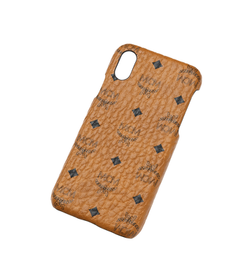 MCM iPhone X Case in Visetos Original AlternateView4