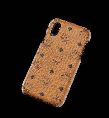 MCM iPhone X Case in Visetos Original Alternate View 4