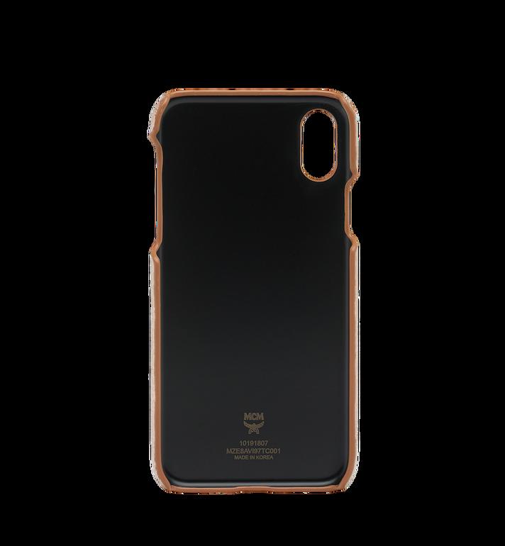 MCM iPhone X Case in Visetos Original MZE8AVI97TC001 AlternateView3
