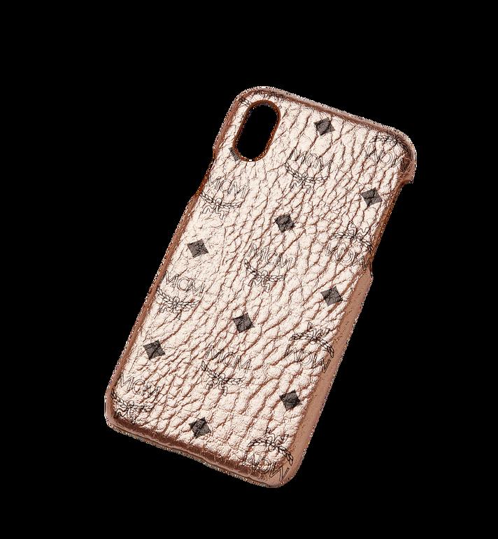 MCM iPhone X Case in Visetos Original MZE8AVI97TC001 AlternateView4