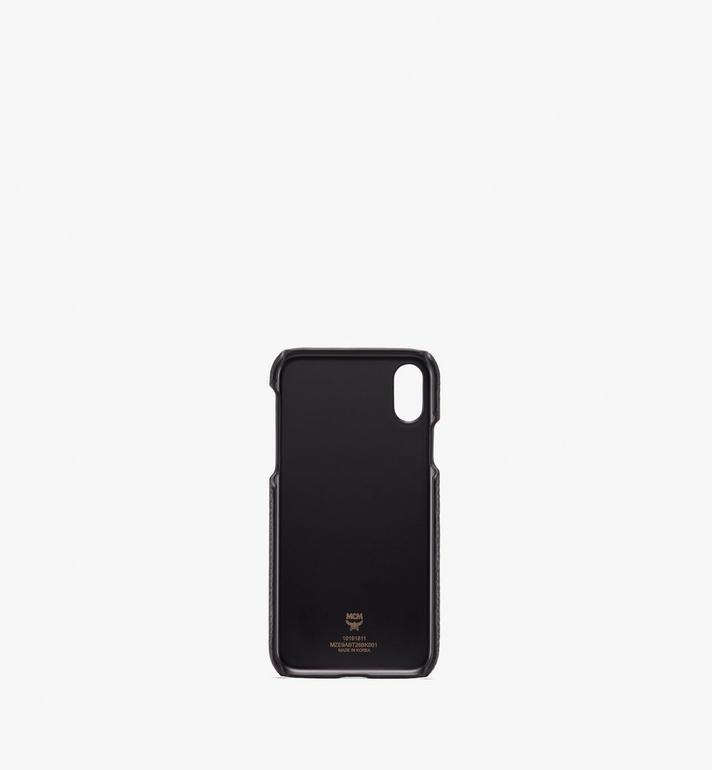 MCM iPhone X/XS ケース ティヴィタット レザー Black MZE9ABT26BK001 Alternate View 2