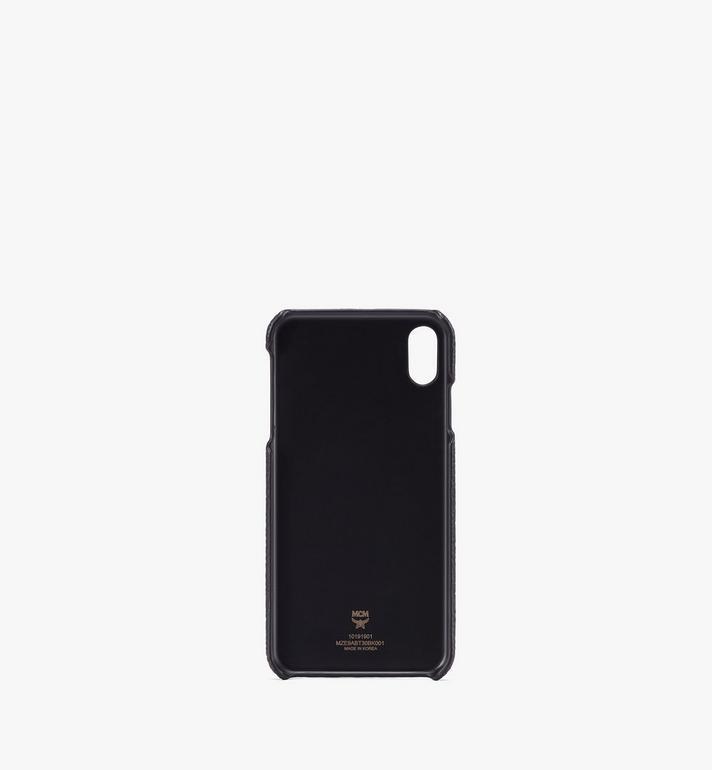 MCM iPhone XS Max ケース ティヴィタット レザー Black MZE9ABT30BK001 Alternate View 2