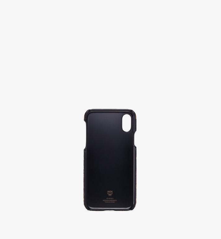 MCM iPhone XS Case in Gradation Visetos Gold MZE9AVI48DG001 Alternate View 2