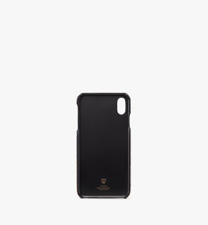 MCM iPhone XS Max Case in Gradation Visetos Gold MZE9AVI49DG001 Alternate View 2