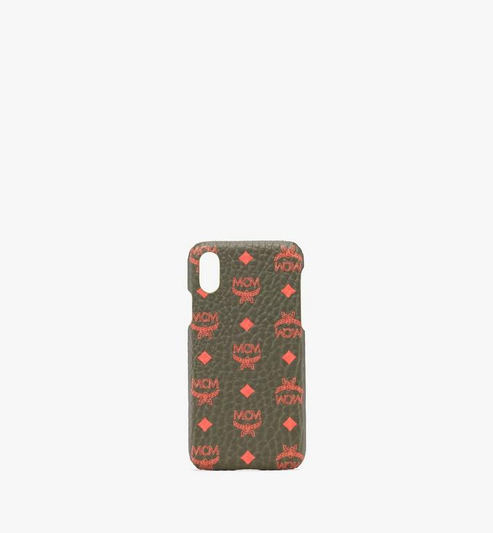 MCM iPhone X/XS Case in Visetos Alternate View