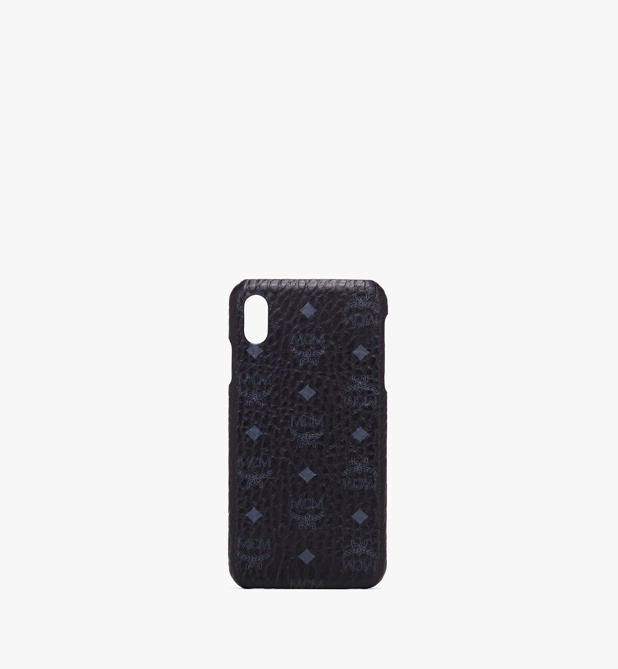 MCM ヴィセトス iPhone XS Max ケース Black MZE9AVI98BK001 Alternate View 1