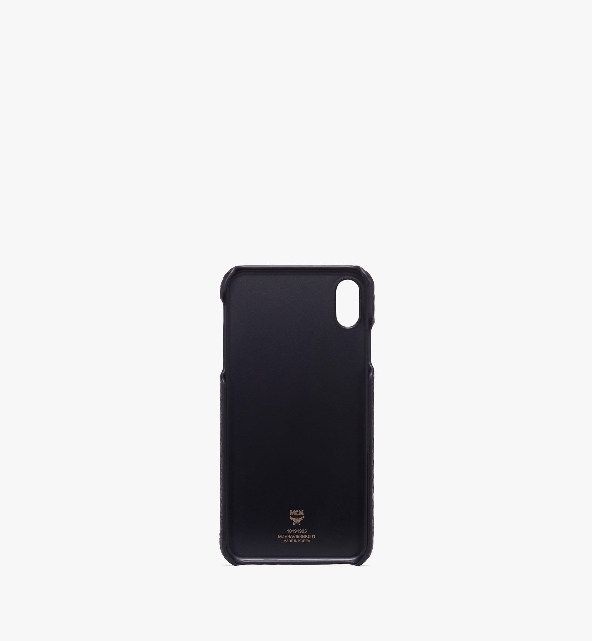 MCM ヴィセトス iPhone XS Max ケース Black MZE9AVI98BK001 Alternate View 2