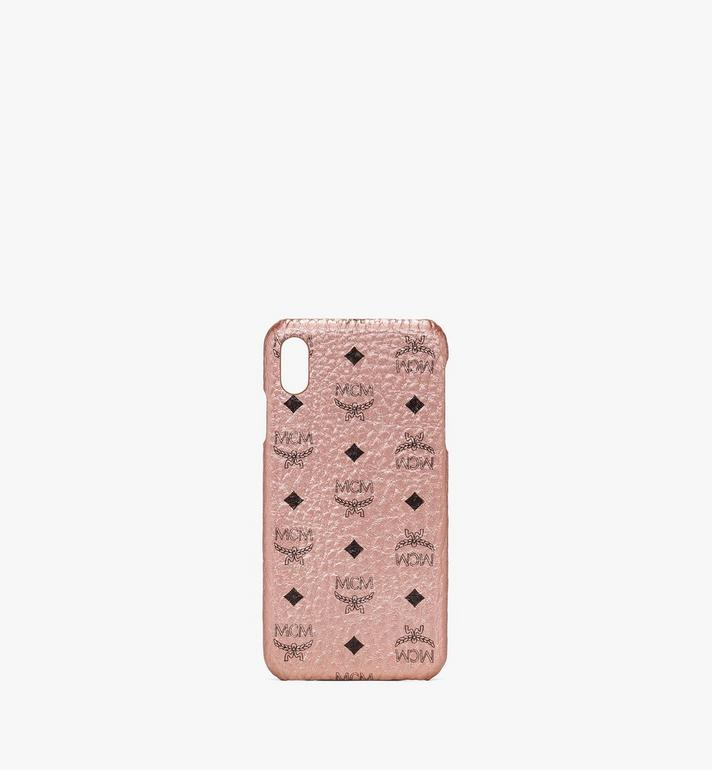 MCM iPhone XS Max Case in Visetos Alternate View
