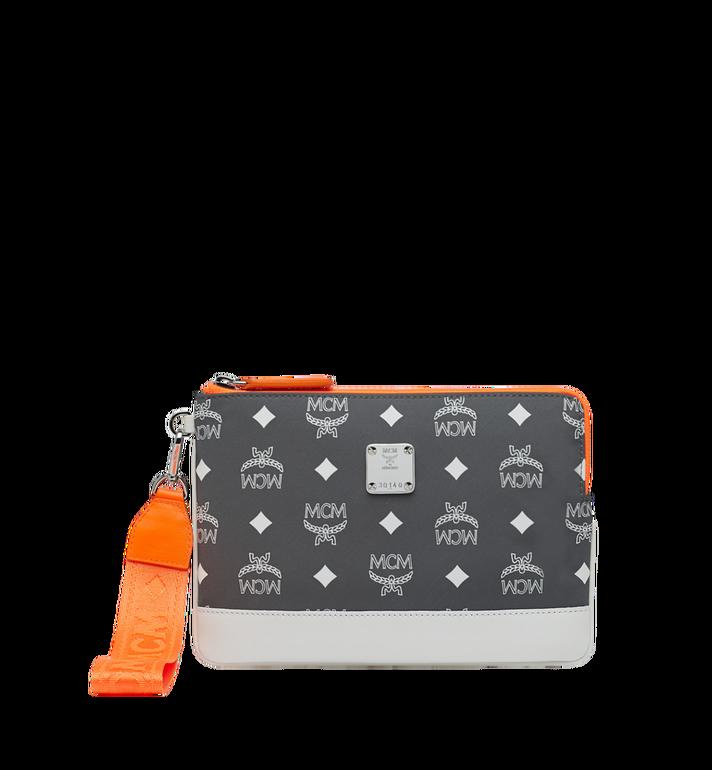 MCM Resnick iPad Mini Case in Logo Nylon Alternate View