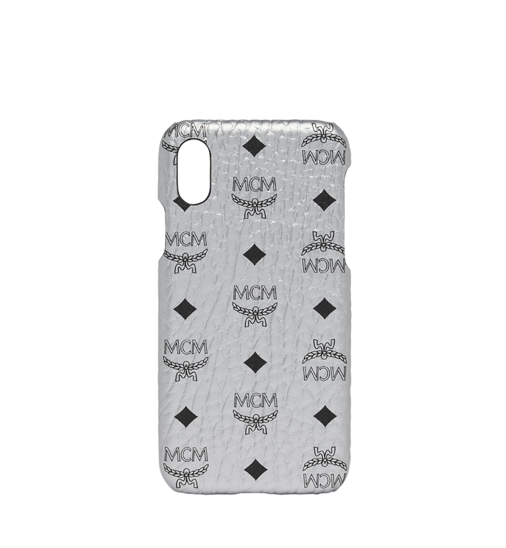 MCM iPhone X Case in Visetos Original Alternate View