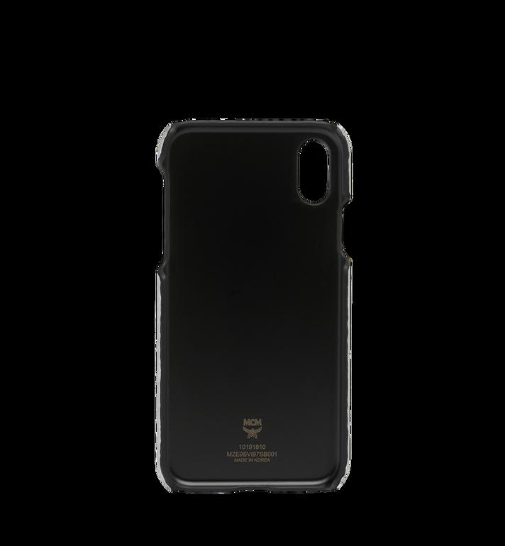 MCM iPhone X Case in Visetos Original MZE9SVI97SB001 AlternateView3