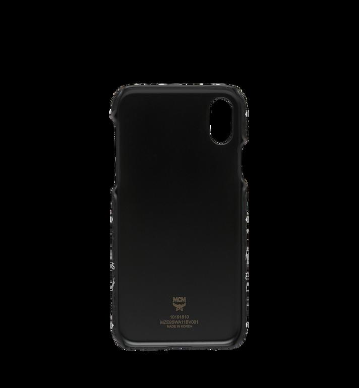 MCM iPhone X Hülle mit Visetos Logo in Weiss Black MZE9SWA11BV001 Alternate View 3
