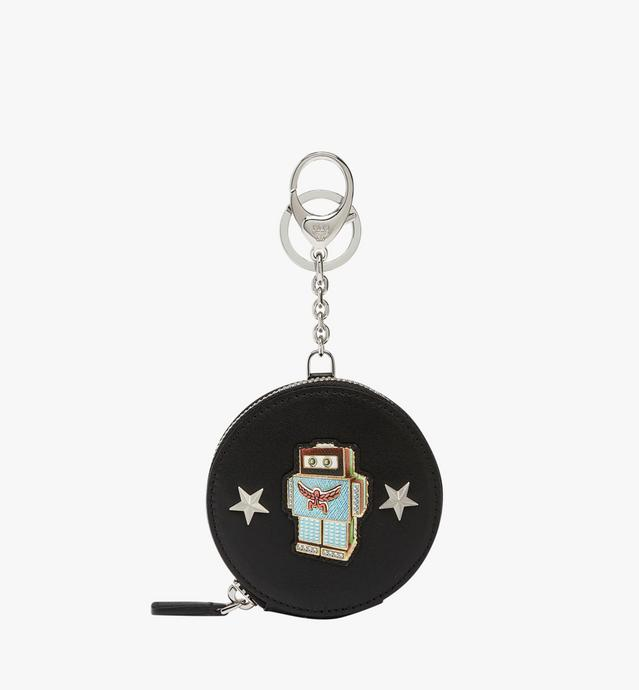 Robot Coin Charm in Nappa Leather