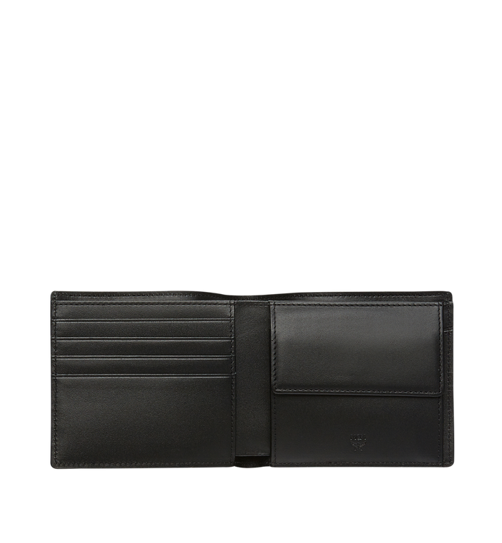 MCM Robot Bifold Coin Wallet in Nappa Leather MZS8SRO52BK001 AlternateView4