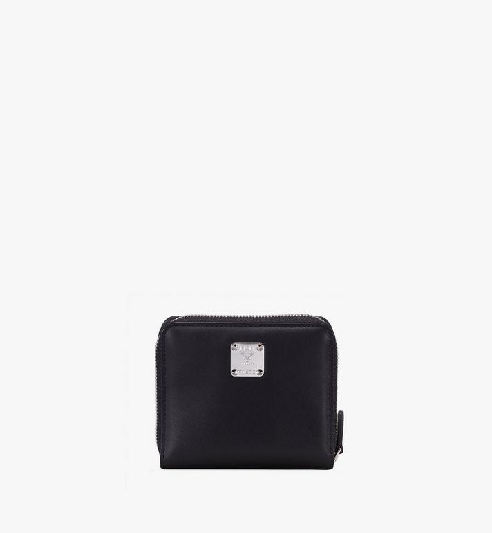 MCM Brieftasche mit Reissverschluss und kontrastierendem Logo  MZS9ACL13WT001 Alternate View 2