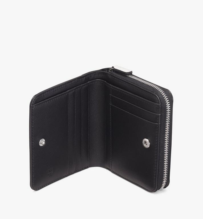 MCM Brieftasche mit Reissverschluss und kontrastierendem Logo  MZS9ACL13WT001 Alternate View 3