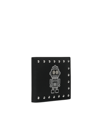 MCM Roboter Bifold Wallet in Nappa Leather Alternate View 2