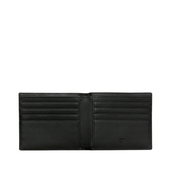 MCM Roboter Bifold Wallet in Nappa Leather MZS9SRO35BK001 AlternateView4