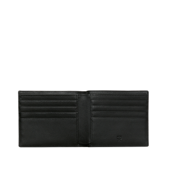 MCM Roboter Bifold Wallet in Nappa Leather Alternate View 4