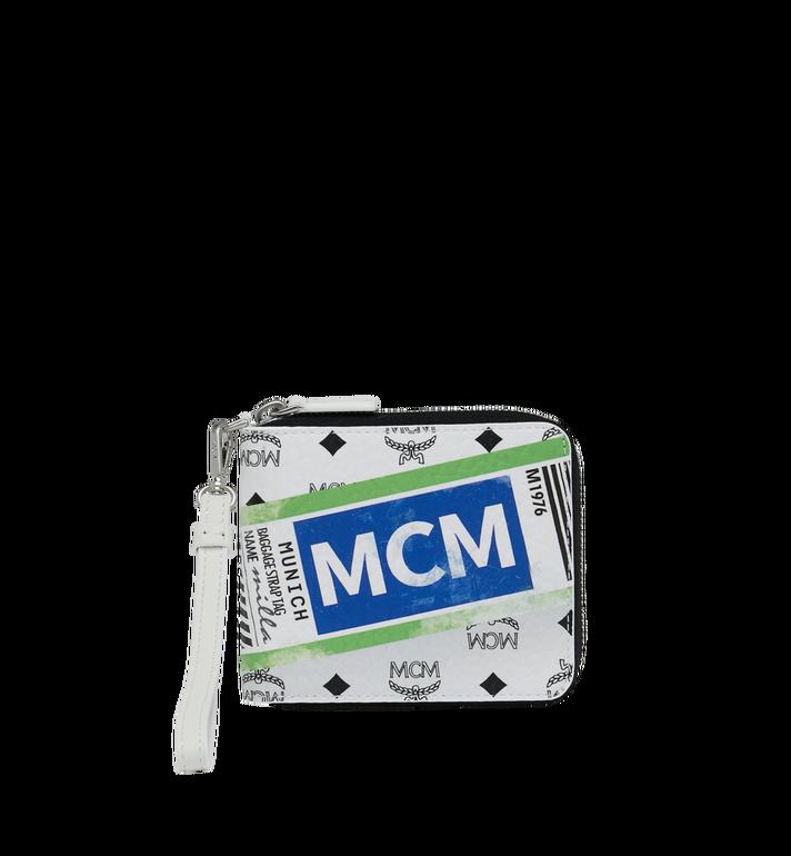 MCM Zip Wallet in Flight Print Visetos Alternate View