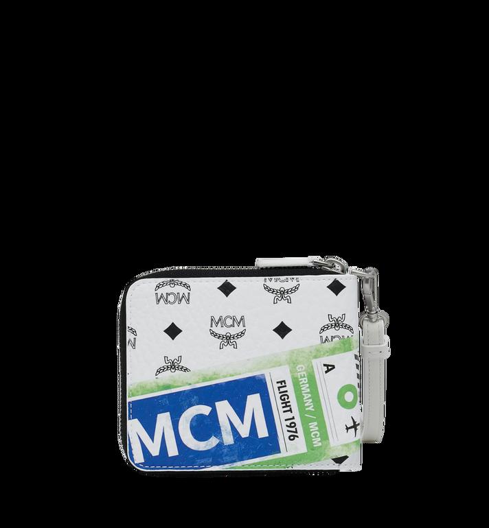 MCM Zip Wallet in Flight Print Visetos Alternate View 3