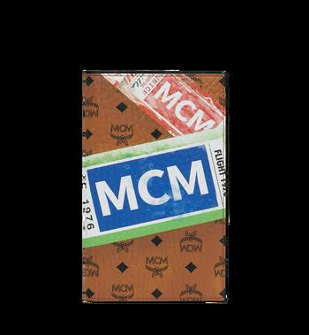 MCM Reisepasshülle in Flight Print Visetos Alternate View
