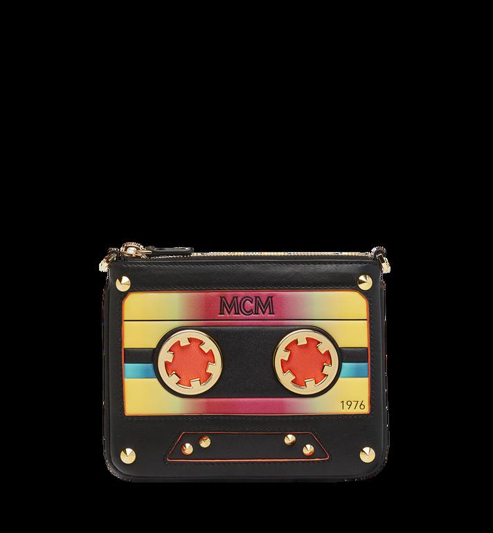 MCM Crossbody Pouch in MCM Cassette MZZ8AMM14BK001 AlternateView