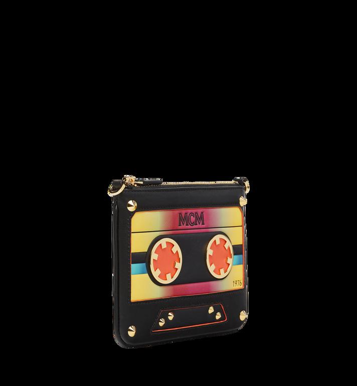 MCM Crossbody Pouch in MCM Cassette MZZ8AMM14BK001 AlternateView2