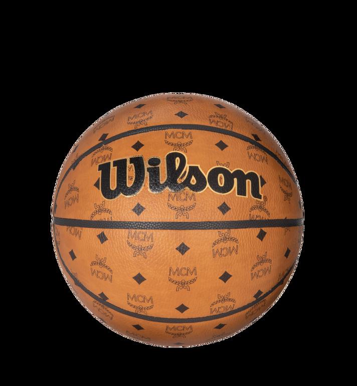 MCM Wilson x MCM Basketball in Visetos MZZ8AXL40CO001 AlternateView