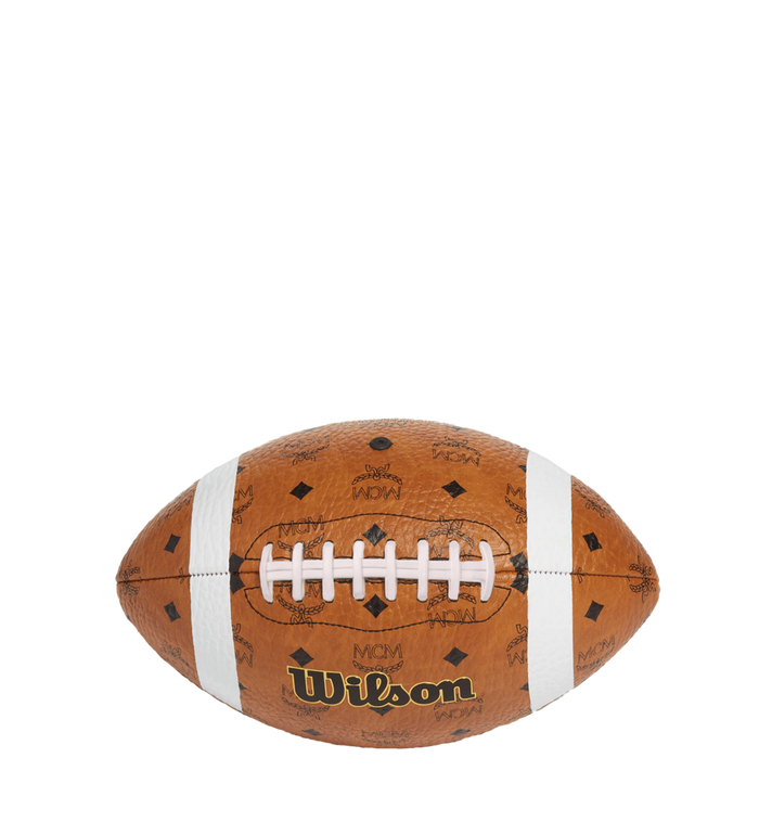 MCM Wilson x MCM Football in Visetos MZZ8AXL41CO001 AlternateView2