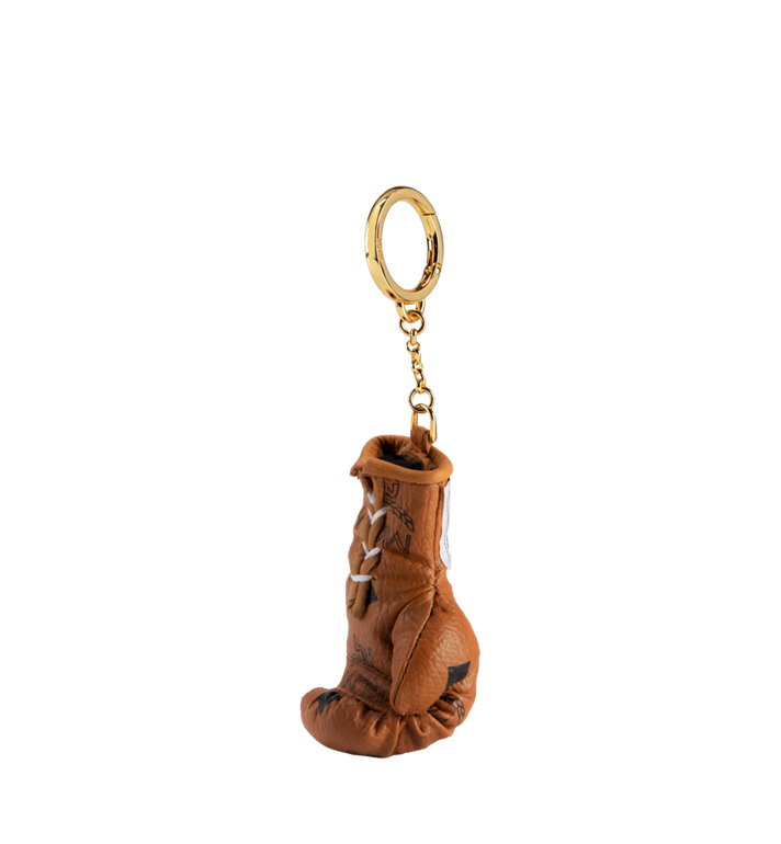 MCM Boxing Glove Charm in Visetos MZZ8AXL42CO001 AlternateView2