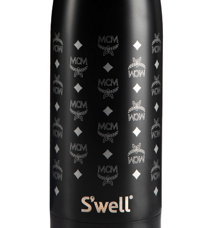 MCM S'Well x MCM Stainless Steel Water Bottle MZZ8AXL45BK001 AlternateView2