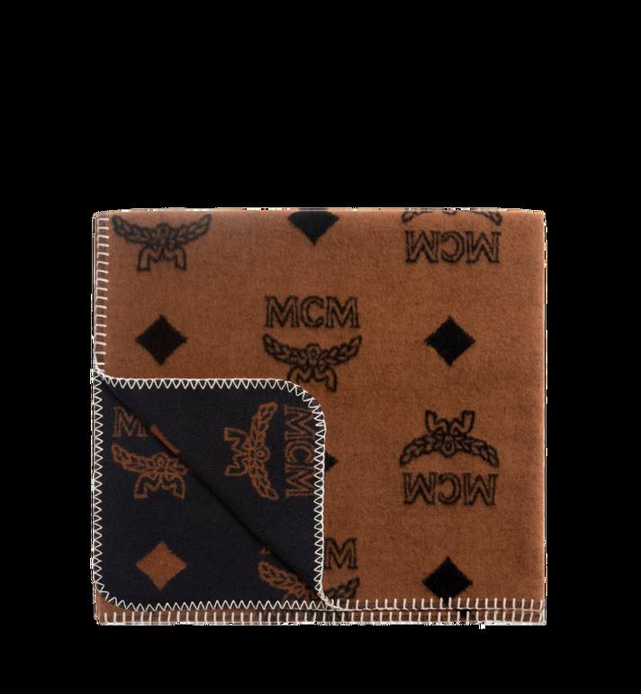 MCM Woolrich x MCM Monogram Wool Blanket MZZ8AXL46CO001 AlternateView