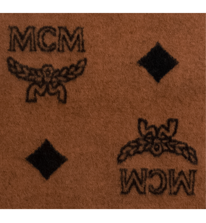 MCM Woolrich x MCM Monogram Wool Blanket Alternate View 2