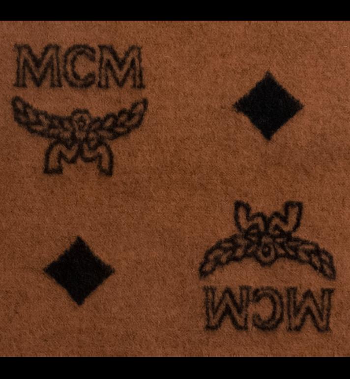 MCM Woolrich x MCM Monogram Wool Blanket MZZ8AXL46CO001 AlternateView2