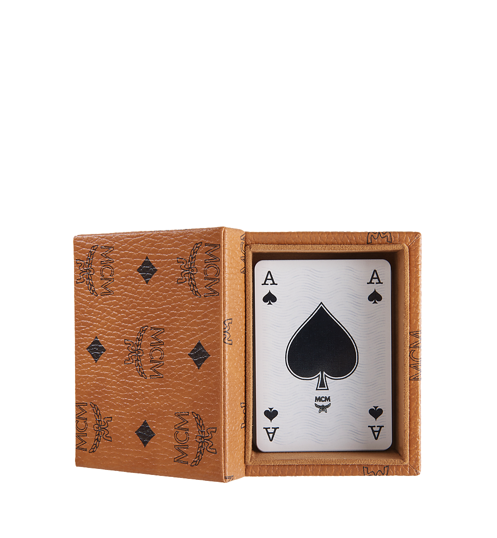 MCM Playing Cards Cognac MZZ8AXL51CO001 Alternate View 1