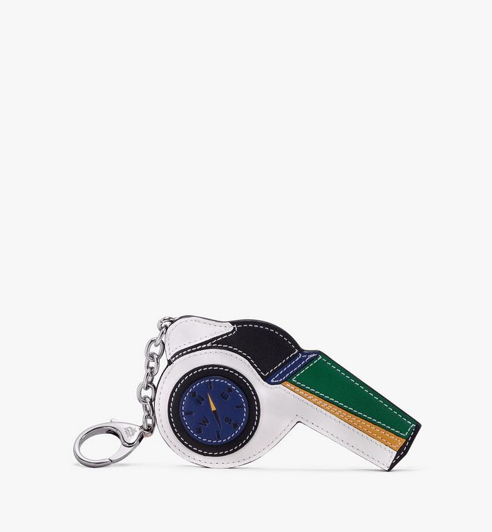 MCM Leather Whistle Charm Alternate View