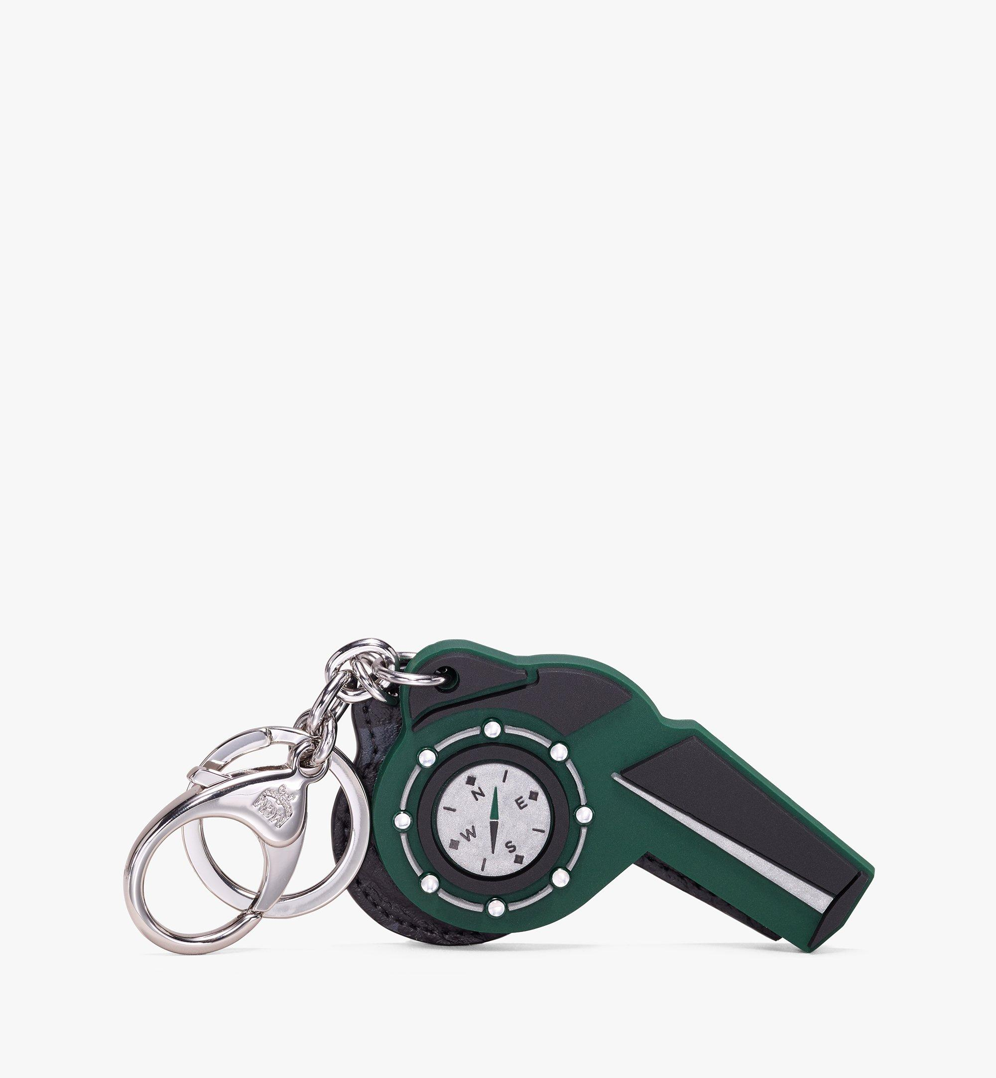 MCM Rubber Whistle Charm Green MZZ9AMM09G5001 Alternate View 1