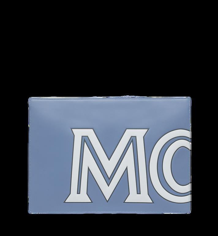 MCM 콘트라스트 로고 파우치 Alternate View