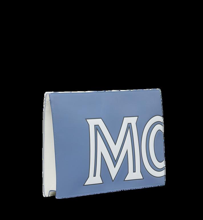 MCM 콘트라스트 로고 파우치 stonewash MZZ9SCL05HE001 Alternate View 2