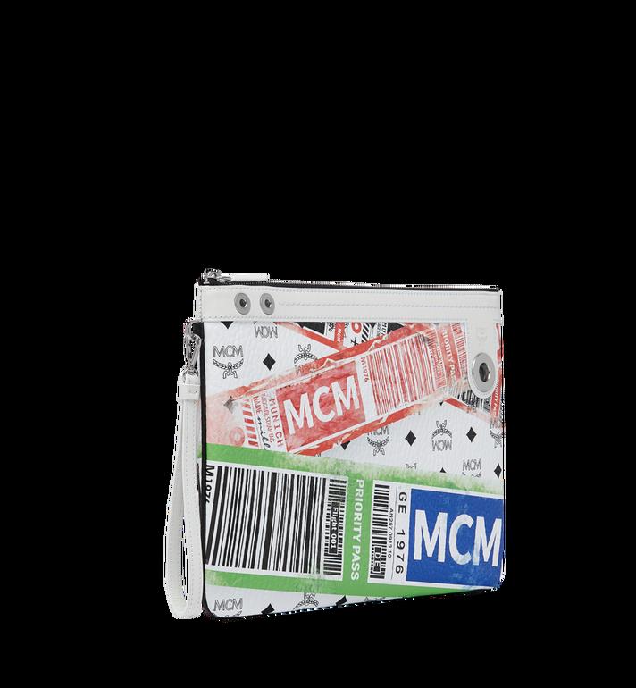 MCM フライトプリント ヴィセトス トップジップ ポーチ Alternate View 2