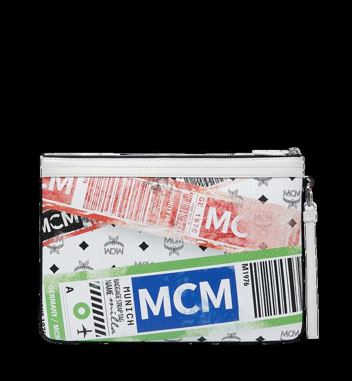 MCM フライトプリント ヴィセトス トップジップ ポーチ Alternate View 3